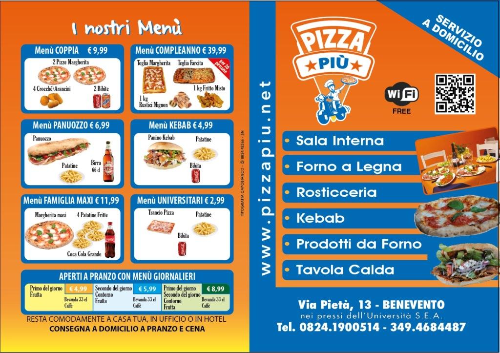 menu 016 pizza più