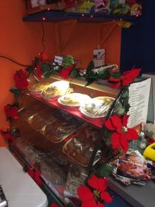 Preparazione Vetrina Natale 2015