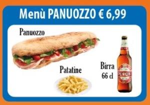 Offerta panuozzo €6,99, domicilio +2€ Benevento