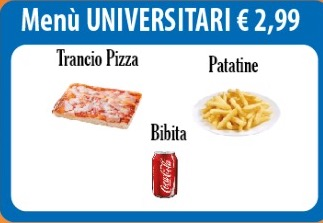 menu universitari benevento