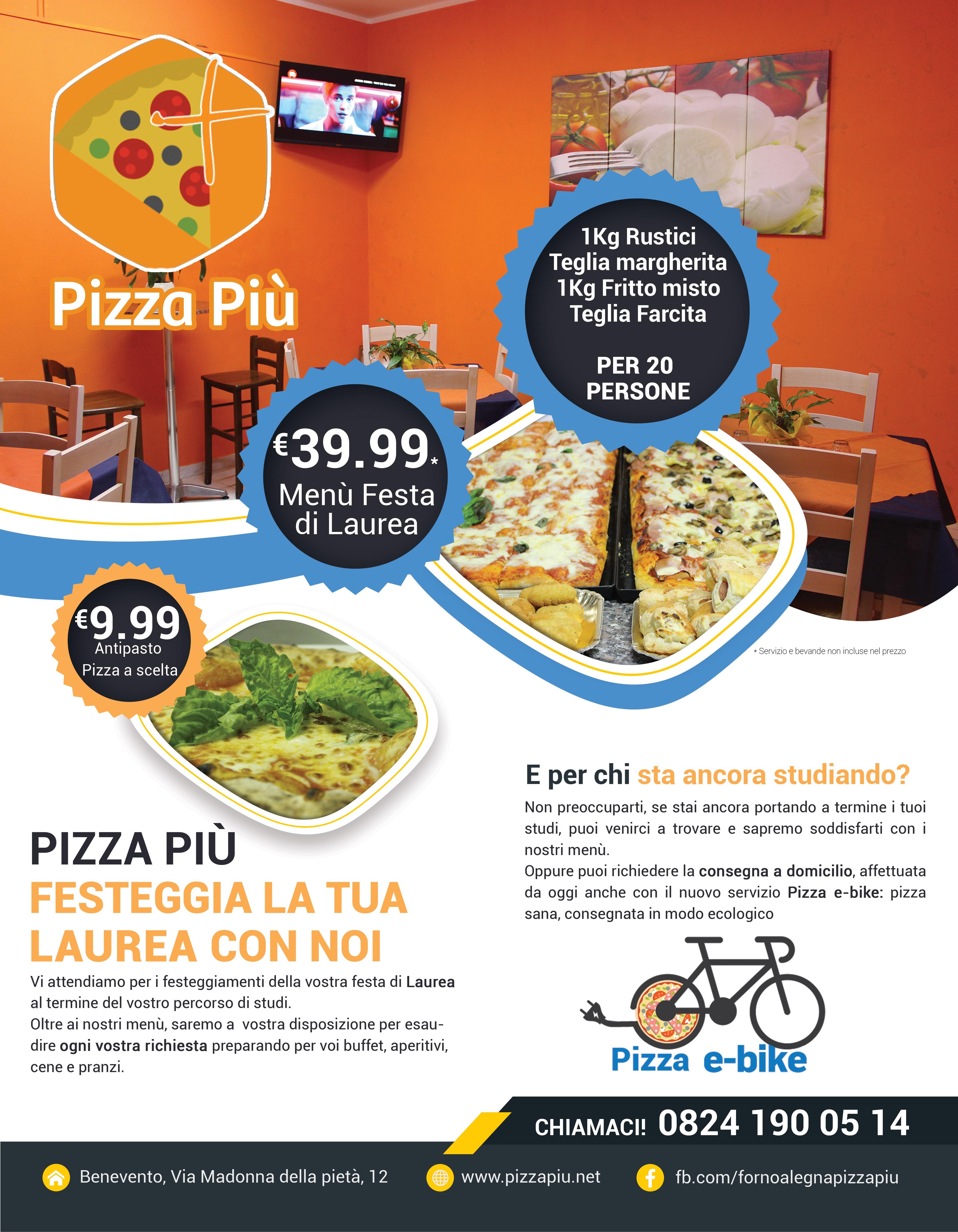 Festa di laurea pizza più Benevento