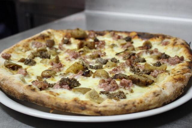 Pizza tartufata domicilio Benevento