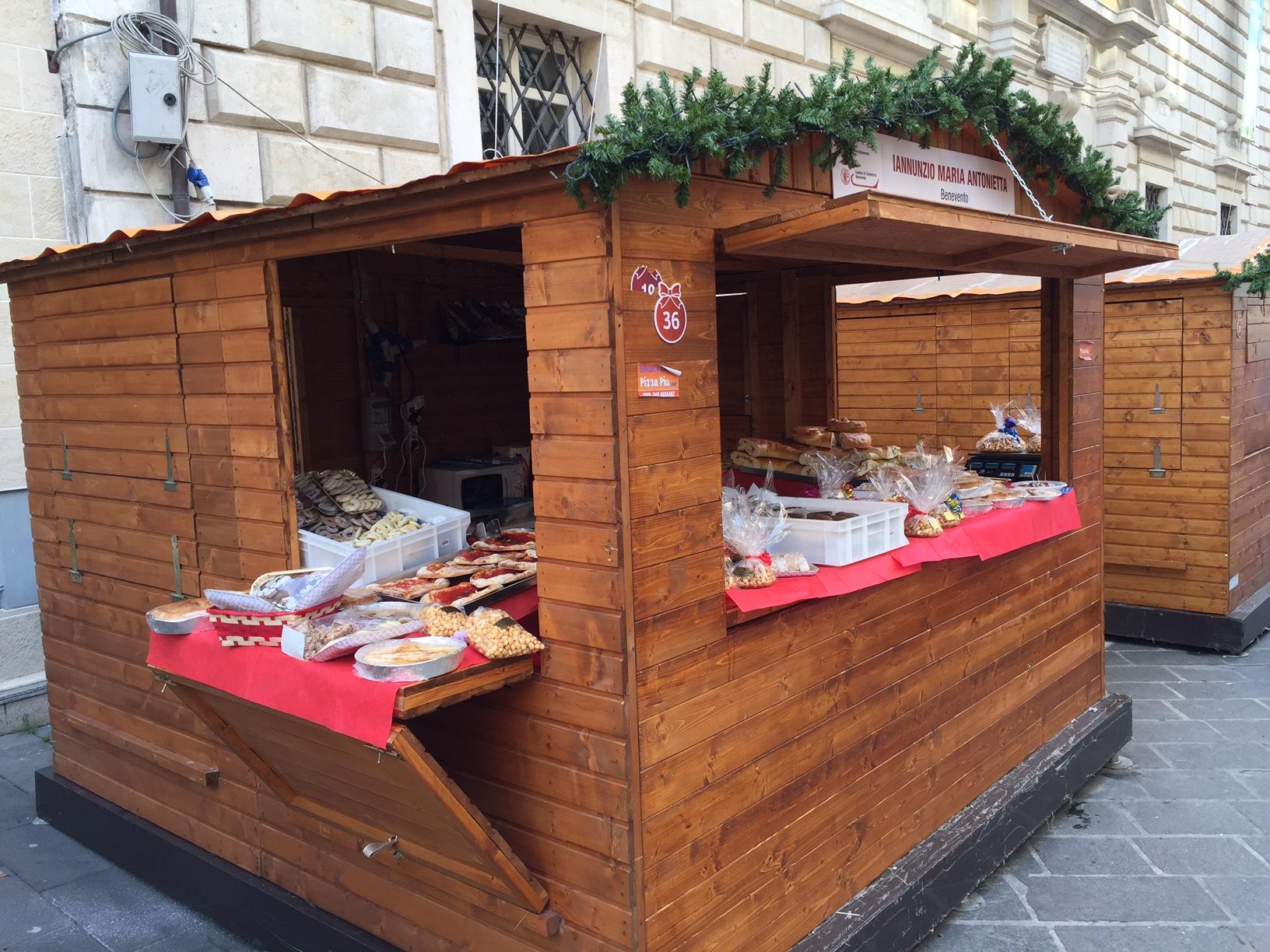 Mercatino di Natale 2015 Corso Garibaldi Benevento