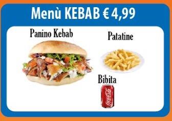 Menù kebab a domicilio Benevento