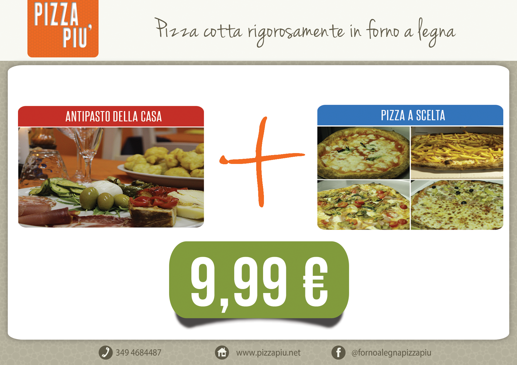 Sala interna Antipasto e Pizza