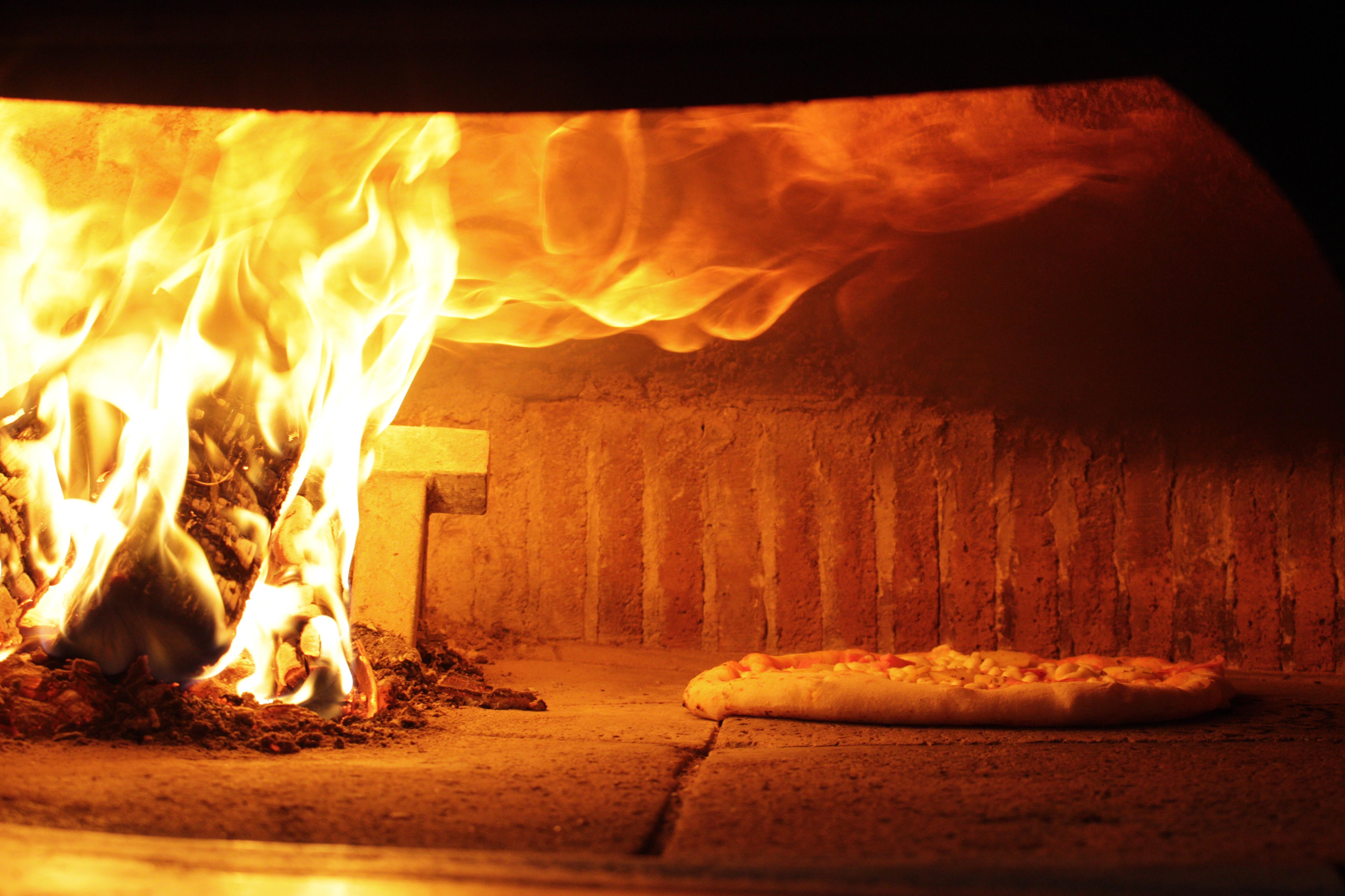 Il forno a legna a Benevento