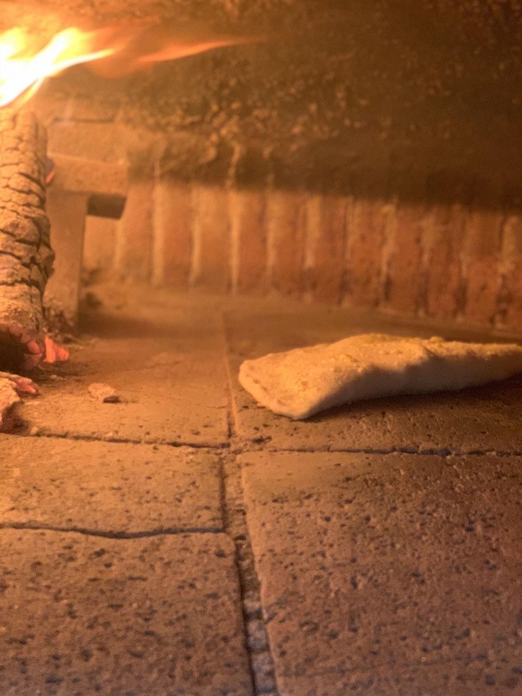 Cottura in forno a legna