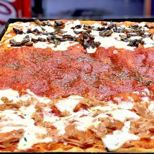 Pizza in teglia 15 pezzi